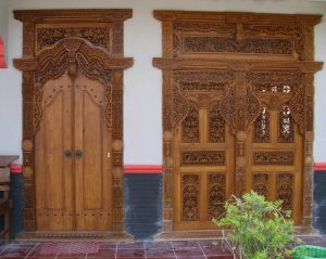 model pintu rumah Jawa