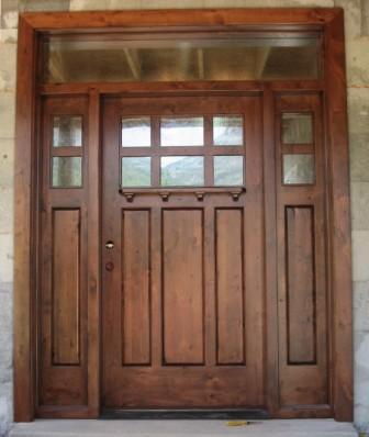 jual pintu kayu jati